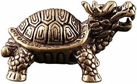 Ultra-Cheap Deals HaiFiy 3D Brass Dragon Turtle Casting gift C Statue Animal Mini Metal