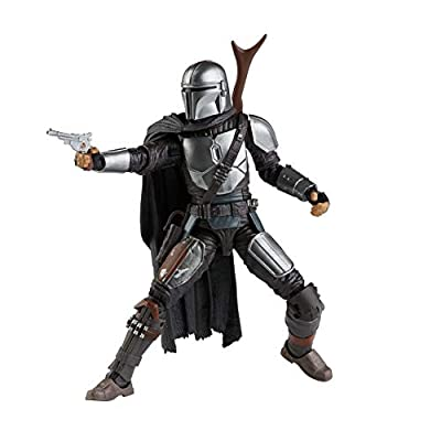 Star Wars The Black Series The Mandalorian Toy 6-Inch-Scale Collectible Action Figure, Toys for Kids Ages 4 and Up by Hasbro
