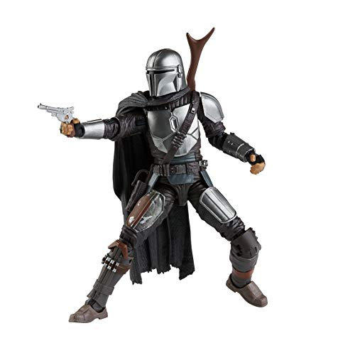 Star Wars The Black Series - Mandaloriano (Action Figure da Collezione, 15 cm, Ispirato alla Serie The Mandalorian su Disney Plus)