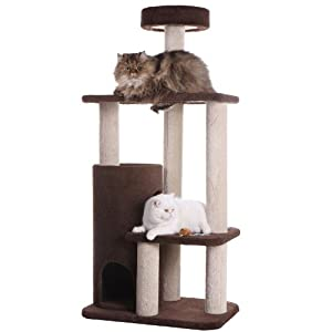 Armarkat Premium Cat Tree Model F5602 Chocolate, Brown