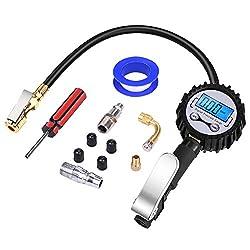 Tire Pressure Monitoring System, LCD Digital Display Tire Calibrator Diagnostic Car Pressure Gauge Accessory Monitoring System
