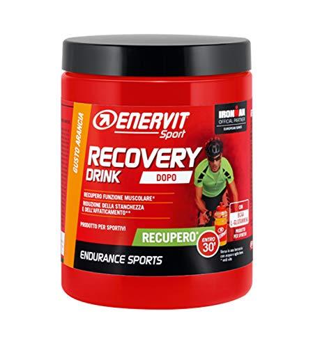 ENERVIT - R2 SPORT GUSTO ARANCIA - 2 CONFEZIONI DA 400 g. Prodotto energetico a base di carboidrati, amminoacidi ramificati, l-glutammina, sali minerali e vitamine. Dopo lo sport.