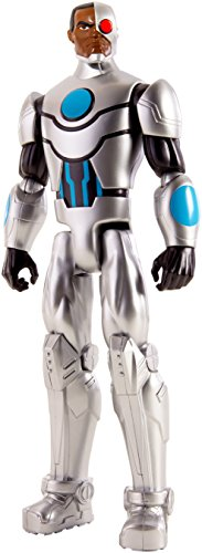 Mattel FBR05 - DC Justice League Basis-Figur Cyborg, Aktionsspielzeug, 30 cm