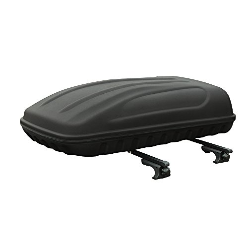 3D MAXpider 6064L-09 Black Roof Box with Rack, 1 Pack