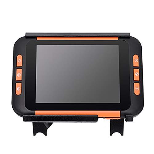 Saiko 3.5inch Elektronische Lesehilfe Leselupen, Tragbar 2X-32X Zoom Digital Lupe Low Vision Video Digital Magnifier 4 Arten Verschiedene Videofarbmodi (3.5 inch)