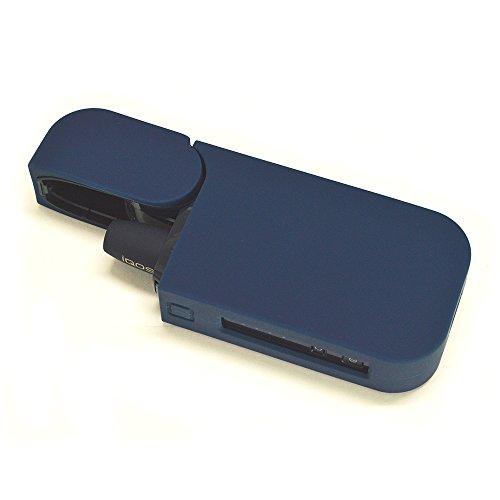 ラスタバナナ アイコス 2.4 Plus ケース/カバー ソフト シリコン ダークブルー アイコス 電子タバコ RBOT237