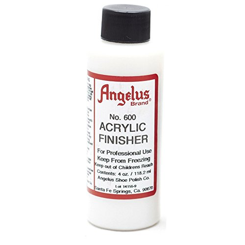Angelus merk acryl afwerking, glans-nr. 600, 4 Ounce Fles (600-04-000)