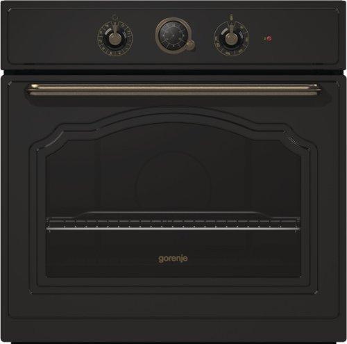 Gorenje BO 73 CLB Backofen Elektro / A / 67 Liter / matt-schwarz / Backmuffe Homemade / AquaClean / Classico Collection