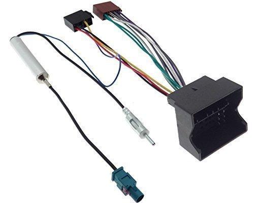Radioadapter Quadlock ISO CITROEN PEUGEOT Fakra Adapter Phantomeinspeisung Kabel