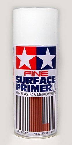 【 タミヤ ファインサーフェイサー L (ホワイト)】180ml缶入り TS044/ きめ細かい滑らかな仕上がりが特長...