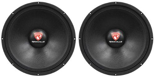 (2) New Rockville RVP15W8 2000 Watt 15' Pro Subwoofers 8 Ohm Raw Sub Woofers