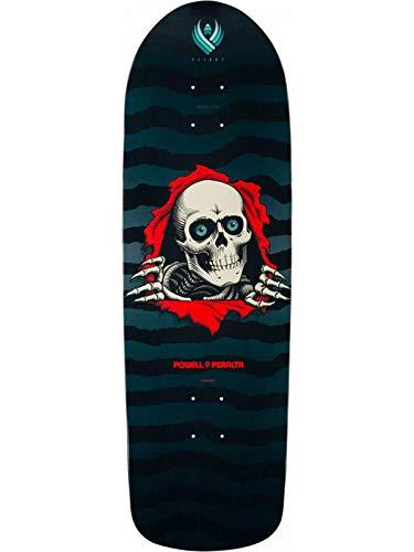 Powell Peralta Schwarz Flight Ripper 280-9.7 Inch Skateboard-Deck (One Size, Schwarz)