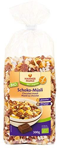 Hammermühle organic Bio BIO Schoko-Müsli glutenfrei (6 x 300 gr)