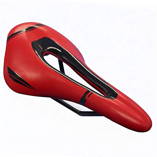 LYJB Sillín De Bicicleta Transpirable Asiento De Bicicleta De Carretera MTB Sillín De Carreras De Bicicleta De Montaña Sillín De Bicicleta Deslizante para Niños Asiento Bicicleta (Color : 2)