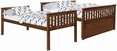 Amazon Com Zinus Deluxe Mid Century Wood Platform Bed