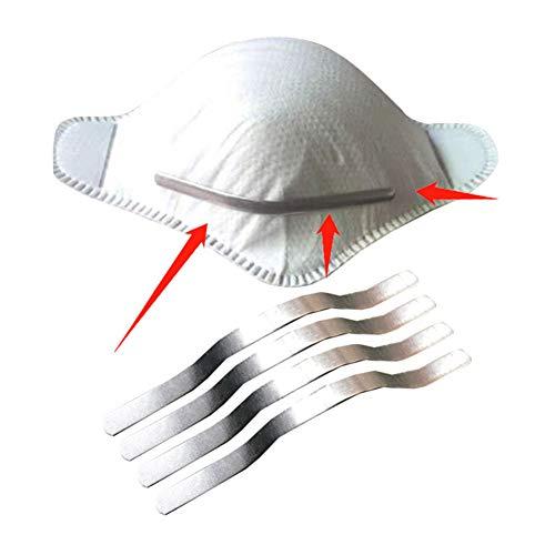 Syfinee 50/100/200Pcs 90mm Aluminum Strip Nose Bridge for Face DIY Making Accessories Crafts