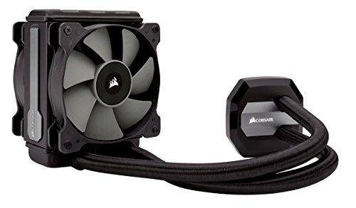 Corsair Hydro Series H80i v2 AIO Liquid CPU Cooler, 120mm Thick Radiator, Dual 120mm SP Series PWM Fans, Advanced RGB Lighting and Fan Software Control, Black