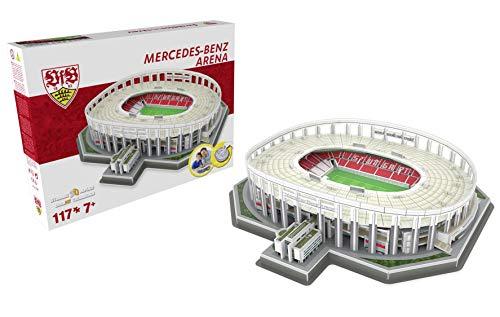 Close Up Nanostad Mercedes Benz Arena 3D Puzzle VfB Stuttgart (30cm x 23cm)