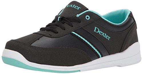 DEXTER Dani Bowling Shoes, Black/Turquoise, 7.0