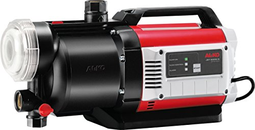 AL-KO Gartenpumpe Jet 6000/5 Premium (1400 Watt Motorleistung, 6000 l/h max. Förderleistung, 65 m max. Förderhöhe, 5-stufiges Pumpenlaufwerk)