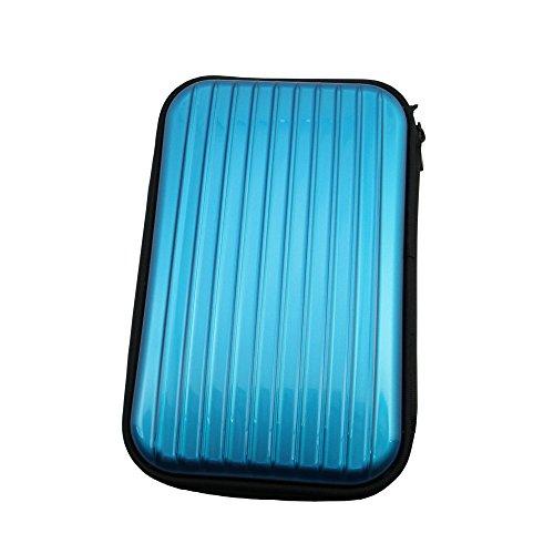 XMY Blue Portable Case Bag Tasche Cover Pouch Box for CASIO EXILIM EX-FR10 Digital Camera Kamera