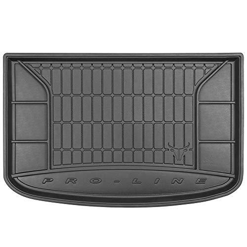 DBS Tapis de Coffre Auto - sur Mesure - Bac de Coffre pour Voiture - Rebords Surélevés - Caoutchouc Haute qualité - Antidérapant - Simple d'entretien - 1766522