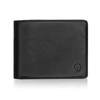 2 ID Window RFID Wallet for Men, Bifold Top Flip, Extra Capacity Travel Wallet