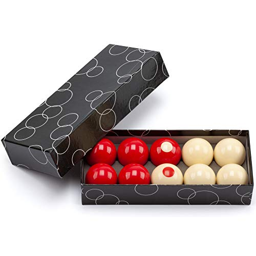 GSE Games & Sports Expert 2-1 8  Regulation Size Bumper Pool Balls, Standard 10 Billiard Ball Set