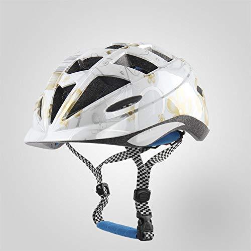 Kaper Go Kinder Reithelm Kind Radschlupf Schutzhelm Männer Und Frauen Kinder Fahrrad Balance Auto Helm (Color : Gold)