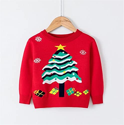 JUNMIN Suéter de Jersey de otoño/Invierno for niños, Camisa Delgada del Fondo...