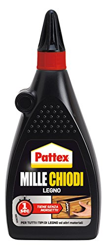 Pattex 1420207 Millechiodi Legno, 200 g