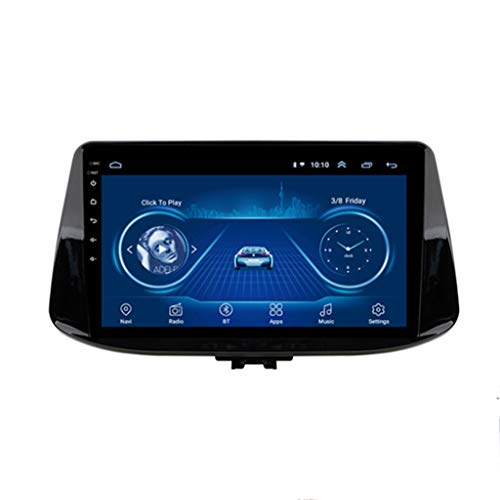 WY-CAR Android 8.1 GPS Navigation Radio TV, 9 Zoll Full Touch Screen Bildschirm Autoradio, für Hyundai I30 2017-2018, mit DAB CD DVD Lenkradkontrolle Bluetooth USB Mirror Link