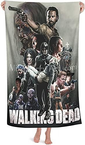 The Walking Dead - Toalla de playa (150 x 180 cm, secado rápido)