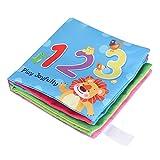 livre tissu bebe Livres en tissu pour bébés, ensemble de livres en tissu doux, cadeau les d'apprentissage précoce non toxiques livre eveil tissu bebe doux pour garçons (# 4)