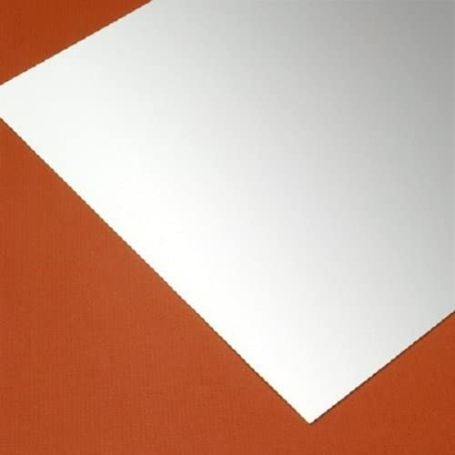 WHITE Styrene Thermoform Plastic Quality inspection Sheets Sheet 0.020