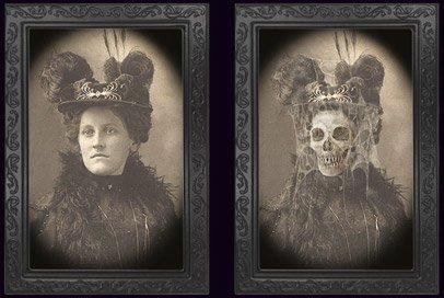 Cultica Halloween Bild Verwandlungsbild Horror Galerie des Grauens 12