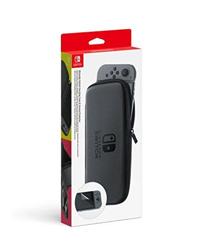 Set d'accessoires pour Nintendo Switch (pochette de transport et protection d'écran)