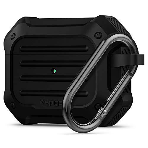 Spigen Tough Armor Designed for Apple Airpods Pro Case (2019) - Black