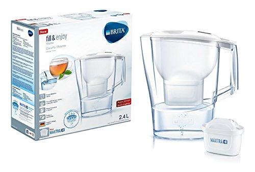 BRITA Aluna White Wasserfilter mit Maxtra +, weiß