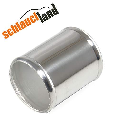 Alu-Verbinder AD 60mm alu poliert*** Alurohr Aluminium Rohr Alu Schlauchverbinder Turbo LLK