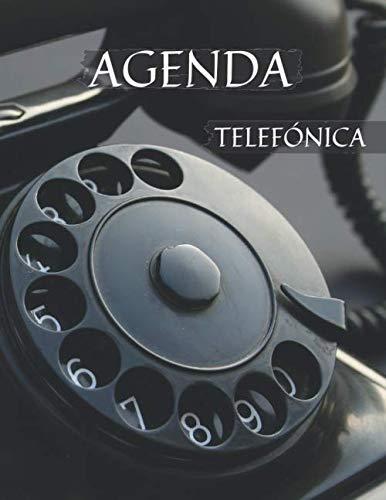 Agenda Telefónica Abecedario: Libreta alfabética para anotar más de 350 contactos con direcciones, teléfonos y correos electrónicos. Letra Grande para adultos. Incluye índice. Cuaderno tamaño a4.