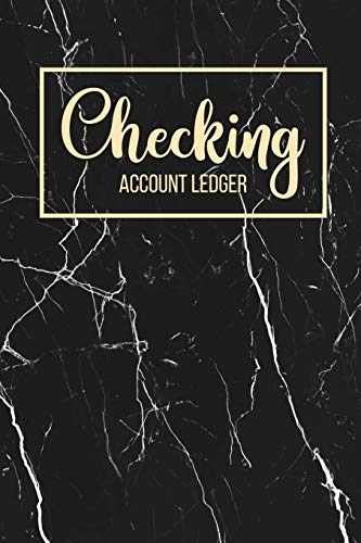 Checking Account Ledger: 6 Column Payment Record, Record and Tracker Log Book, Personal Checking Account…