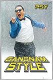 1art1 PSY Poster und Kunststoff-Rahmen - Gangnam Style,