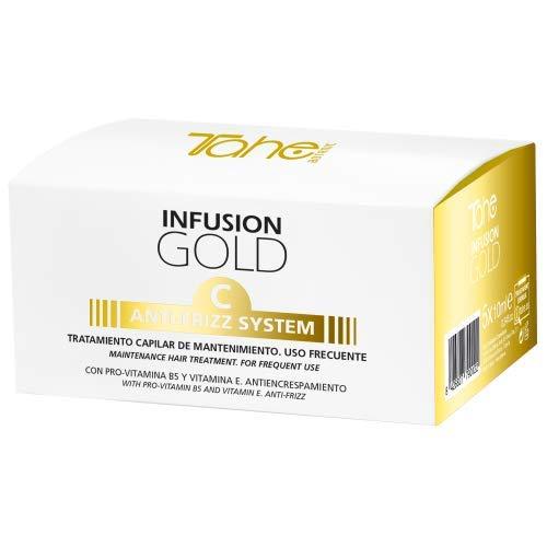 Tahe - Botanic Gold - TRATAMIENTO CAPILAR DE MANTENIMIENTO INFUSION GOLD C ANTI-FRIZZ SYSTEM
