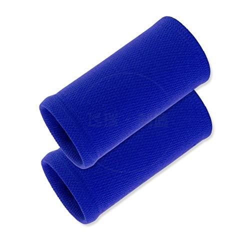Pulseras deportivas unisex, antideslizantes, para el sudor, elástico, atlético, muñequeras absorbentes, bolsillo para la muñeca, banda de sudadera, para fútbol, baloncesto, correr, atletismo