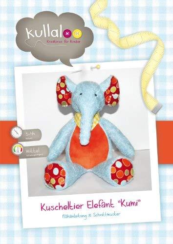 kullaloo - Schnittmuster & Nähanleitung für Kuscheltier Elefant