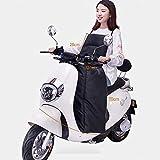 Manta de motocicleta impermeable Motocicleta Cubierta de la pierna de la rodilla Cubierta de la pierna del calentador de la rodilla for los scooters Proteguración del viento de la lluvia Edredón de in