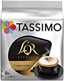 TASSIMO L'Or Caf Capuccino - 5 paquetes de 8 unidades: Total 40 unidades