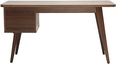 Miliboo Bureau Design Noyer L140 cm Fifties