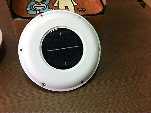Solar Vent Automatic Ventilator Fan for Boat Motorhome Green House Kitchen...